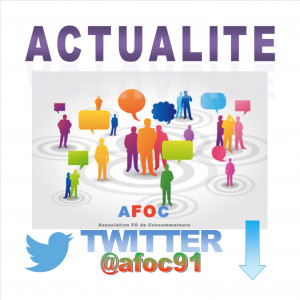actualité AFOC 91 sur TWITTER