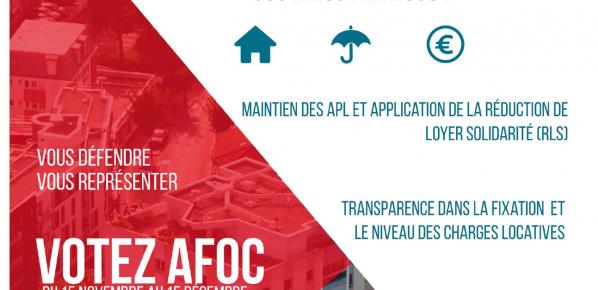 L'AFOC SE MOBILISE ! – Elections HLM 2018